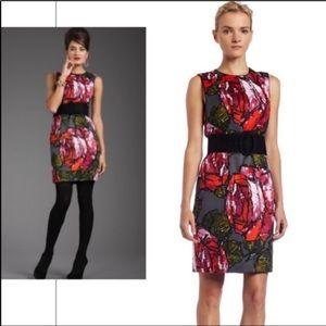 Trina Turk 6 silk blend mirren rose dress.